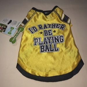 Other - Pet Dog Animal Basketball Outfit Shirt Jersey SM